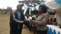 Winner WASH Club patron;Football 4 Water Interschools competitions Nakuru County